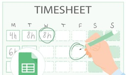 Free timesheet template using google spreadsheet
