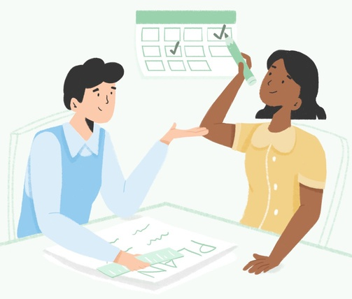 Resource planning illustration