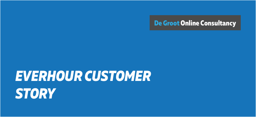 we use everhour as our timesheet software – de groot online consultancy