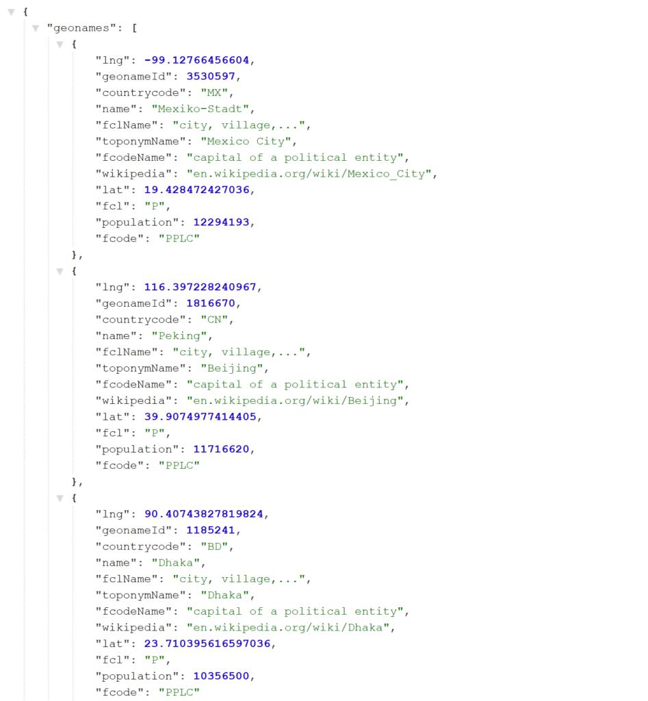 chrome extensions - JSON Formatter