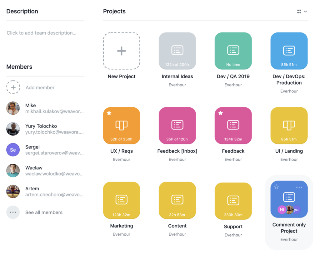 project totals in Asana