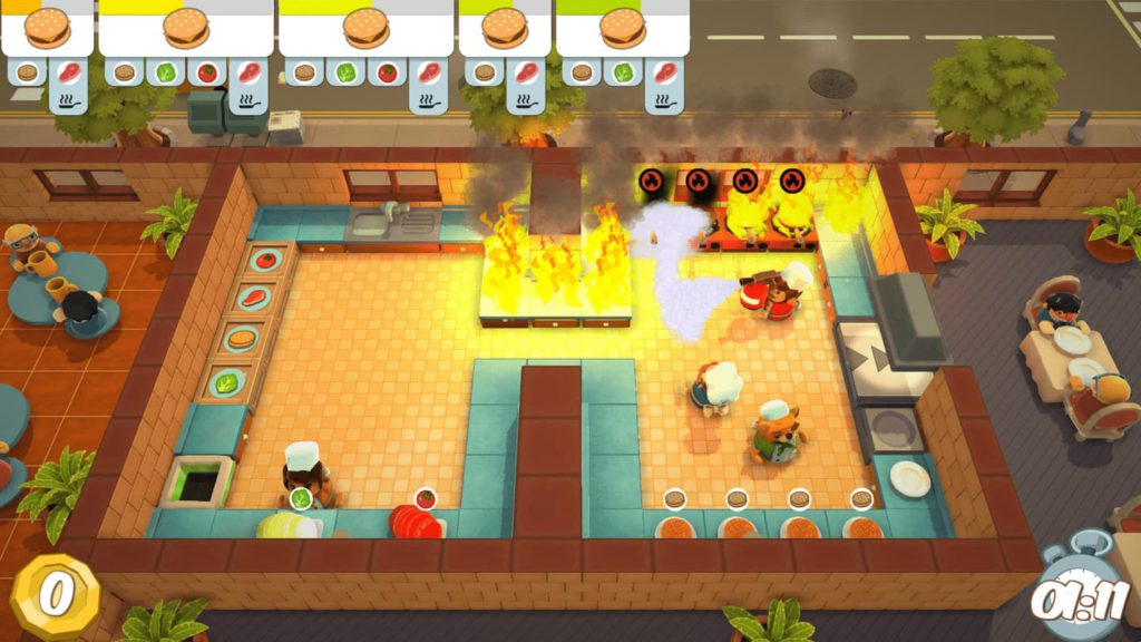 Time Management Games - Overcooked