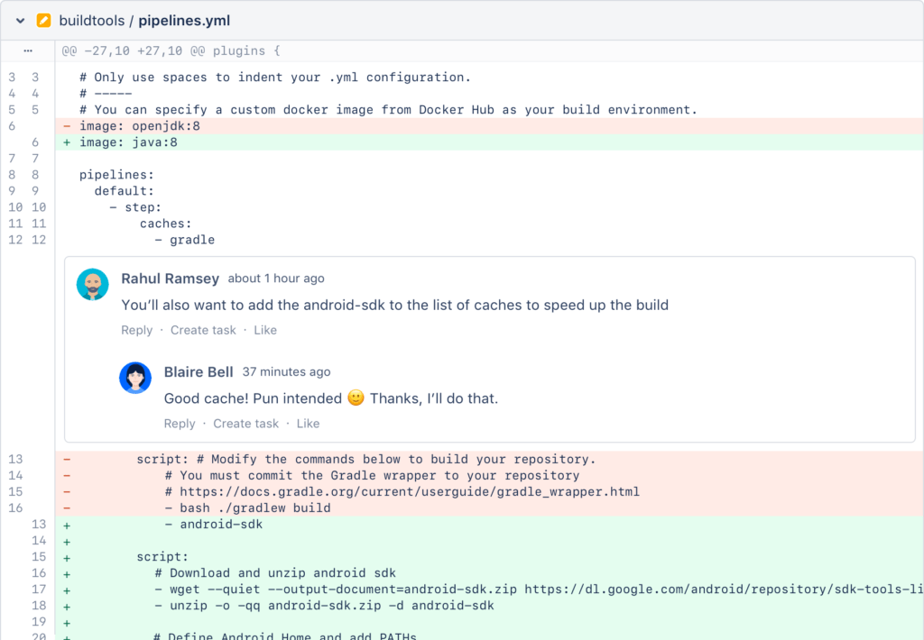 Jira project management - BitBucket