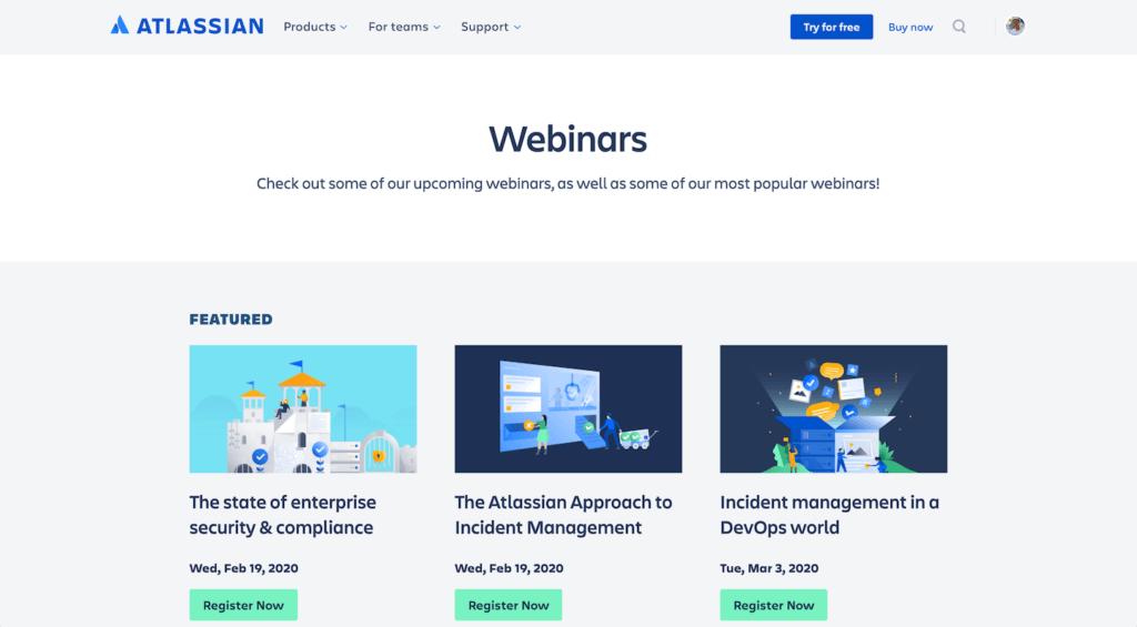 Jira project management - Jira webinars
