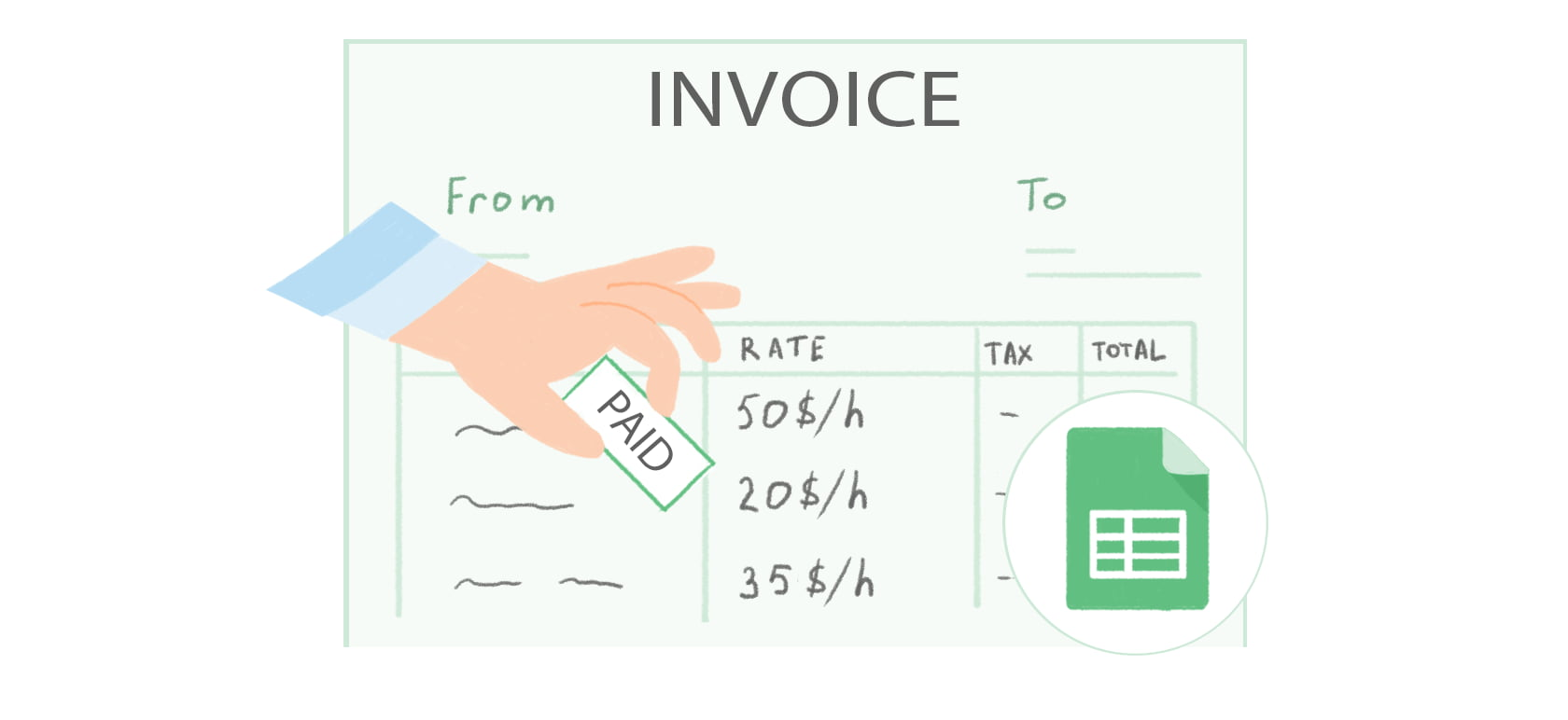 Free Google Docs Invoice Template