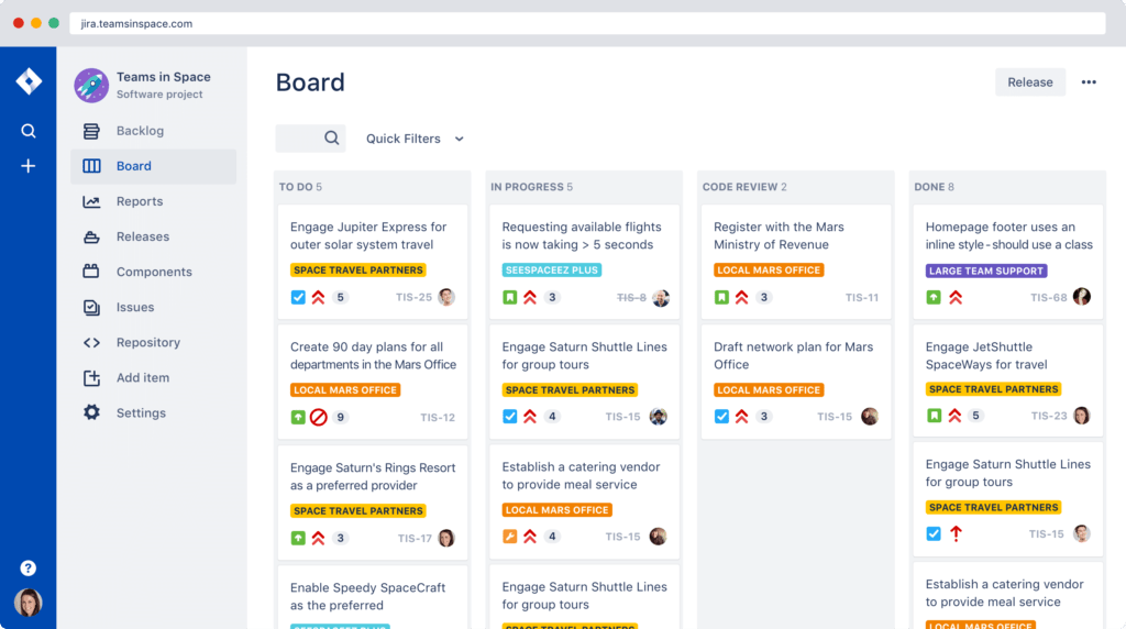 how to use Jira - Jira board