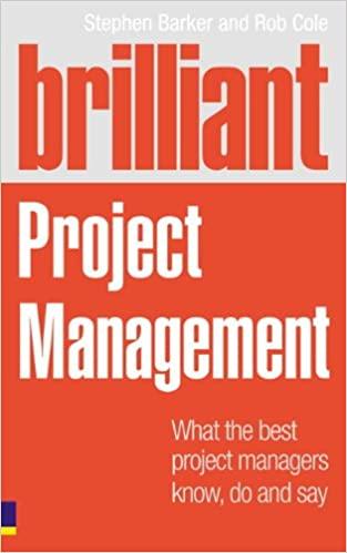 Best Project Management Books -Brilliant Project Management