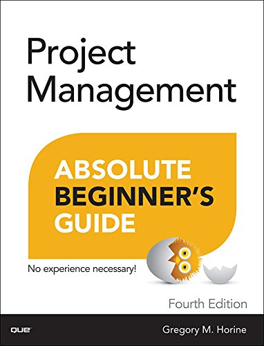 Best Project Management Books - Project Management Absolute Beginner's Guide