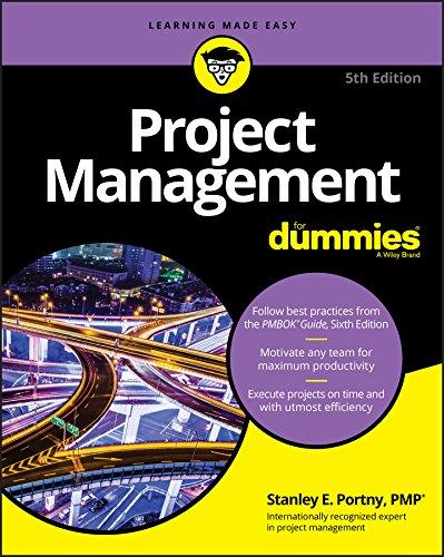 Best Project Management Books - Project Management For Dummies