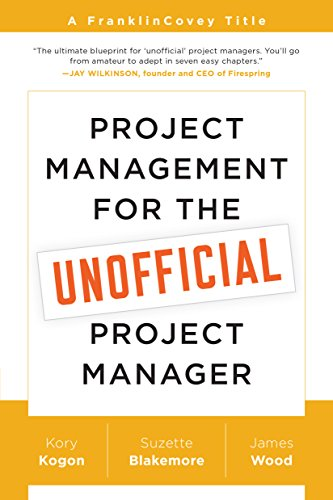 Best Project Management Books -Project Management for The Unofficial Project Manager