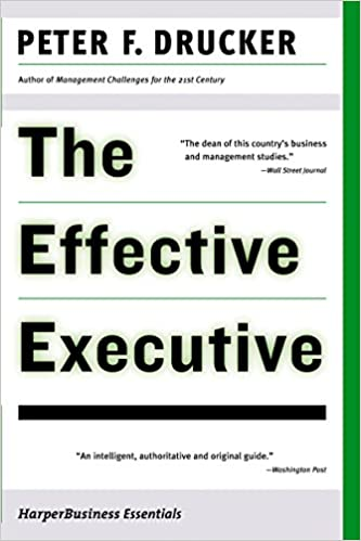 Best Project Management Books - The Effective Executive