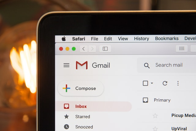 productive things to do when bored - clean your email