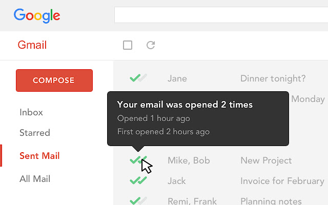 Best Chrome Extensions - Mailtrack for Gmail
