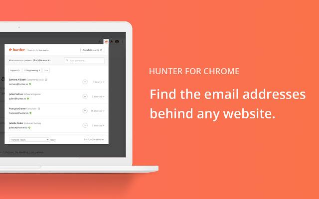 Best Chrome Extensions - Hunter