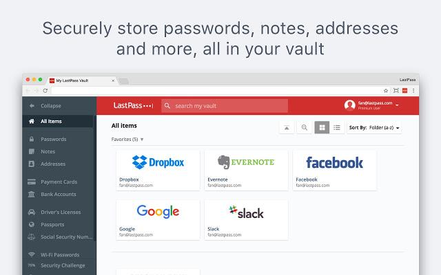 Best Chrome Extensions - Last Pass