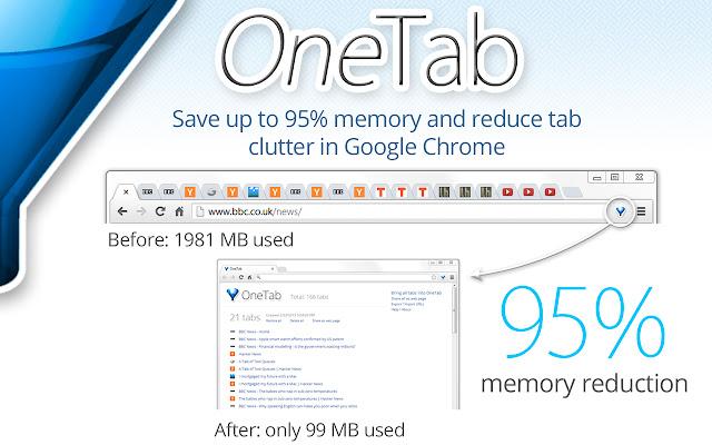 Best Chrome Extensions - Onetab