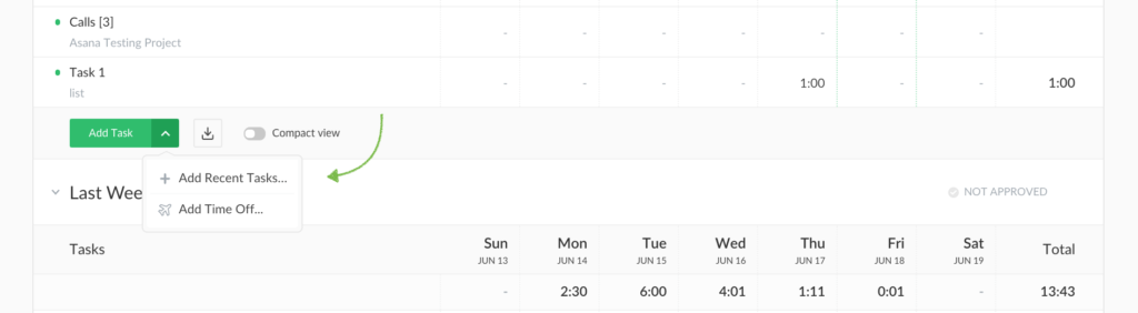 empty weeks on timesheets, time off changes + small tweaks