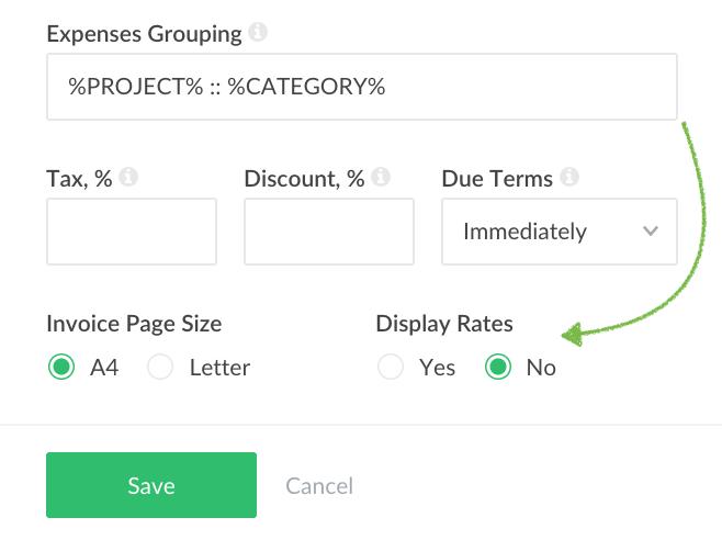 ui improvements on invoices